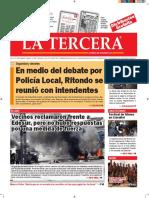 Diario La Tercera 20.07.2016