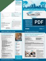 IEEE Globecom 2015 Exhibitor Information