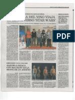 Youht Wine Festival. Diario de Valladolid. El Mundo. 20 / 07 / 2016