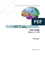 The Virtual Brain User Guide