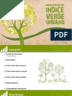 Indice Verde Urbano Ecuador