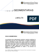 Rocas Sedimentarias - Limolita