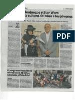Youth wine Festival. El Norte de Castilla. 19 / 07 / 2016.