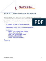 AEA PD Online Instructor Handbook(1)