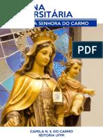 Novena Universitária a Nossa Senhora do Carmo