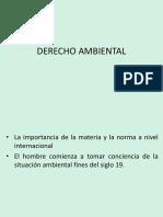Sesion 1 - Derecho Ambiental Ppt
