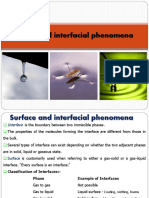 Lecture - 3 Surface and Interfacial Phenomena