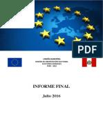 Informe final de la Misión de observación electoral de la Unión Europea – Perú 2016