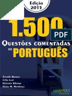 1500 Questoes Comentadas Lingua Portuguesa