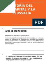 Unidad IV Capital y Plusvalia Primera Parte