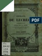 Bergson Sobre Lucrecio Extractos Curso 1883_FR