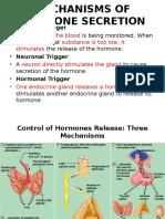 Lecture - 2 Mechanism of Hormone Secretion