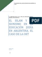 El islam y el sionismo en la educación judía argentina - El caso de la ORT