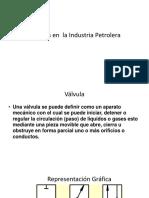 Válvulas en El Industria Petrolera