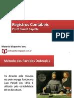 3. Registro Contábil