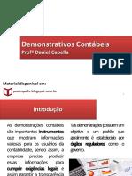 2. Demonstrativos Contábeis