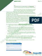 OAF - Oracle Application Framework Material