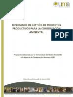 Diplomado en Diseño y Gestión de Proyectos para el Desarrollo Sustentable