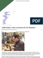 Guild Guitars, Visita a La Factoría de New Hartford
