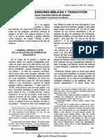 ANTIGUAS VERSIONES BÍBLICAS Y TRADUCCIÓN.pdf