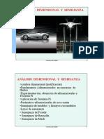 Analisis Dimensional Semejanza