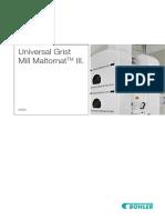 Brochure Universal Grist Mill Maltomat III En