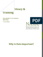 Student Data Privacy Presentation