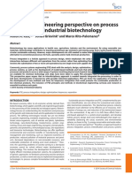 A Systems Engineering Perspective on Process Integration in Industrial Biotechnology