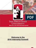 2016 internship summit ppt