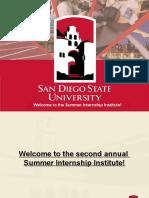 2015 summer internship insitute ppt