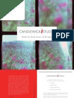 Candlewick Studio Catalog 2016
