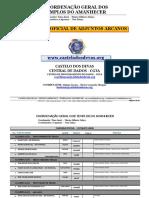 Chamada Oficial Arcanos 10-05-2016