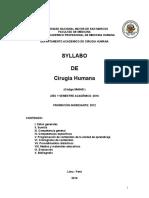 Silabo Cirugia 2016 Corregido 24 de Mayo (NO FINAL)