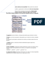 Guía Para Quinto Texto Literario y No Literario
