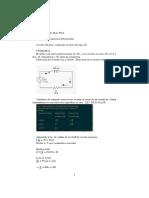 aplicacion de las ecuaciones diferenciales a la electronica