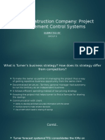 Turner Construction Company -  Project Management