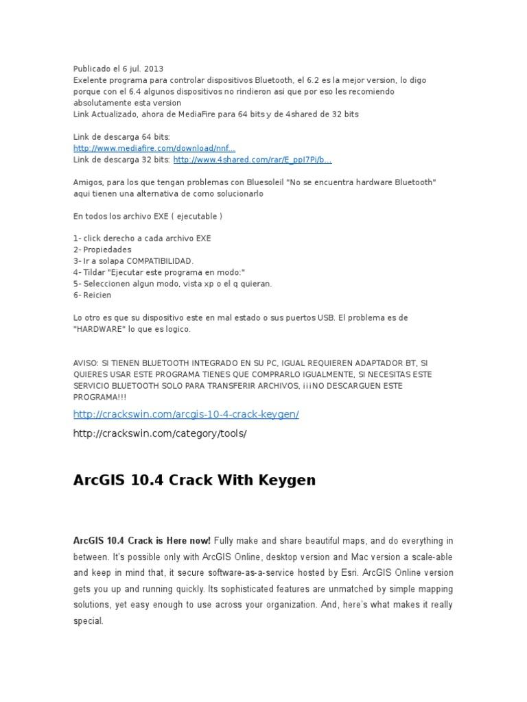 bluetoo docx | Arc Gis | Windows 10