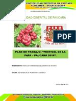 PLAN DE TRABAJO POR DIA NACIONAL DE PAPA 2016.docx