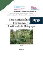 Caracterización de La Cuenca No. 55 - Río Grande de Matagalpa
