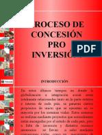 Proceso de Concesión Pro Inversión