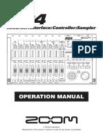 Zoom R24 manual