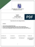 1B F5 science 2016 PAPER 1