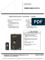 Fuji Frenic 5000g11s _ Frenic 5000p11s Drives Instruction Manual