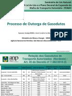 05 ANP Cesxrio e Symone Processo de Outorga de Gasodutos
