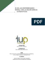 RELACION DE ENFERMEDADE DE SALUD MENTAL Y LA DELINCUENCIA.pptx