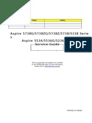 New 4GB Memory DDR3 Acer Aspire 5738ZG-424G25MN