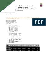 Programacion en C++ ejemplos