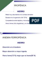 Archivos Clases Pregrado Hematologia Ferropenica