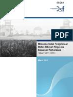 Rencana Induk Pengelolaan Batas Wil Negara Dan Kawasan Perbatasan 2014