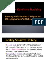 Week2 Locality Sensitive Hashing